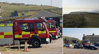 """На юге Великобритании эвакуировали людей с пляжа из-за """"облака хлора"""""""