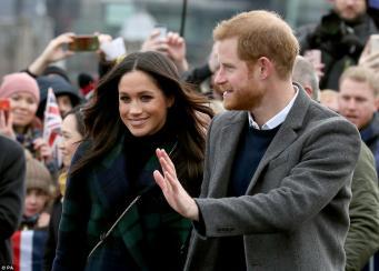 Гарри и Меган посетили Эдинбург