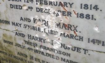В Лондоне вандалы атаковали могилу Карла Маркса