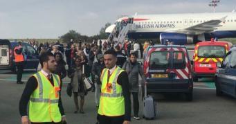 Самолет British Airways задержан в парижском аэропорту из-за угрозы теракта фото:metro