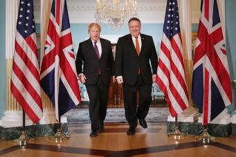 Джонсон призвал Трампа не усугублять ситуацию на Ближнем Востоке