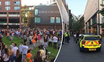 Крупный торговый центр в Бристоле эвакуирован из-за сообщения о бомбе