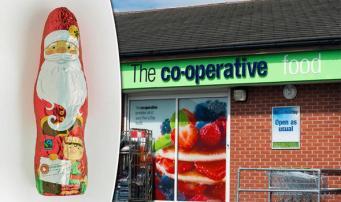 Шоколадные Санта-Клаусы отозваны из продажи