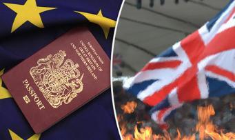 Рекордное число британцев обращаются за получением гражданства Франции
