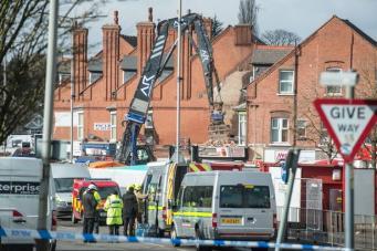 В деле о взрыве дома в Лестере появился криминальный след