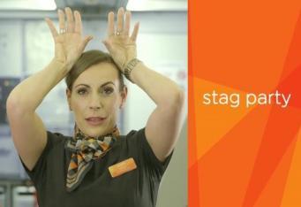 EasyJet показал «секретное» видео о тайных знаках стюардесс