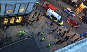 В Лондоне произошел взрыв газа