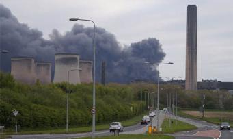 Пожар в Чешире