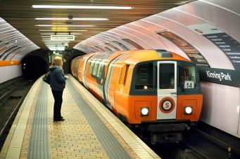 метро в Глазго