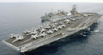 Авианосец США может остаться в Средиземном море из-за России