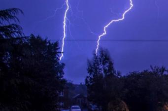 Краткосрочный прогноз погоды: Над Великобританией сгущаются тучи