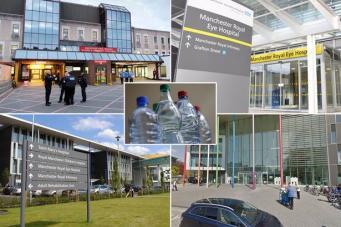 В Манчестере четыре больницы прекратили операции из-за коммунальной аварии