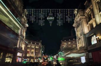 На Оксфорд-стрит зажгут рождественскую иллюминацию