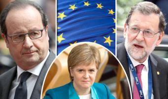 Шотландии вежливо отказано в сохранении членства в Евросоюзе фото:express.co.uk