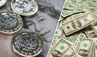 Курс фунта стерлингов вырос до десятимесячного максимума к доллару