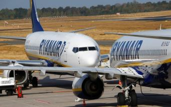 Ryanair отменил около ста рейсов из аэропорта Станстед