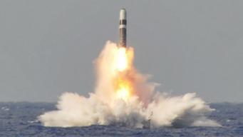 Запуск ядерной ракеты с британской подлодки в сторону США был замолчан по просьбе Обамы