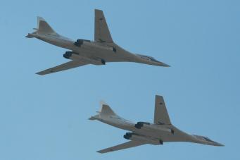 RAF Typhoon вылетели на перехват российских сверхзвуковых бомбардировщиков
