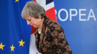 Депутаты дали Терезе Мэй три дня на подготовку «плана Б» договора о Брекзите