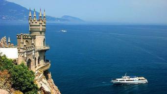 Первая организованная группа британских туристов прибыла в Крым