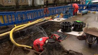 В Лондоне около двадцати тысяч домов остались без воды