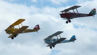 Ралли старинных самолетов