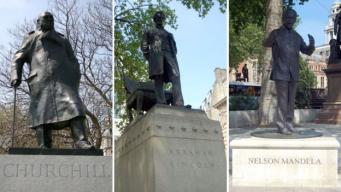 В скульптурной композиции на Парламент-сквер впервые появится памятник женщине фото:bbc