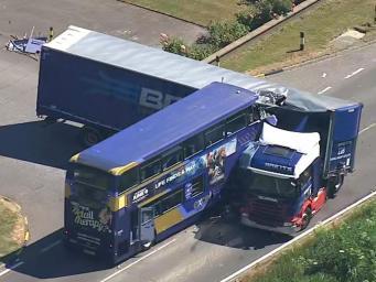 ДТП на трассе А47 в Кембриджшире: есть жертвы