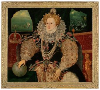 Исторический портрет королевы Елизаветы I стал общественной собственностью Великобритании фото:bbc.com