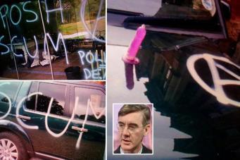 Вандалы атаковали дом популярного британского политика