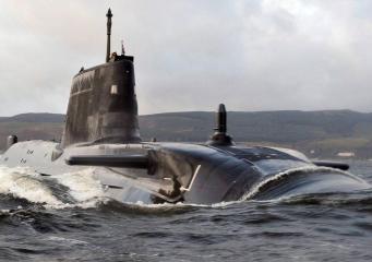 Британские субмарины выведены на расстояние выстрела к границам Сирии