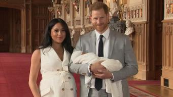 Гарри и Меган впервые показали журналистам новорожденного сына