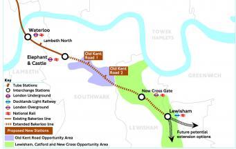 Жители Лондона поддержали идею мэрии продлить линию метро Bakerloo фото:mayorwatch