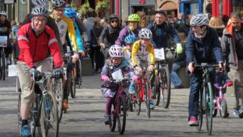 велодемонстрация в Эдинбурге