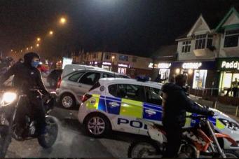 Скотланд-Ярд предупредил лихачей на мотоциклах о рейде в ночь Хэллоуина