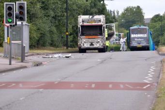 Крупное ДТП в Бирмингеме: пострадали подростки фото:mirror