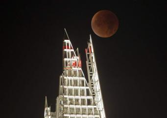 Где в Лондоне лучше наблюдать полное лунное затмение