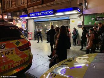 Полиция закрыла станцию метро Bond Street после попытки вооруженного ограбления