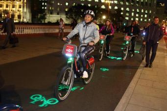 Лондонский городской велопрокат зафиксировал новый рекорд фото:standard.co.uk