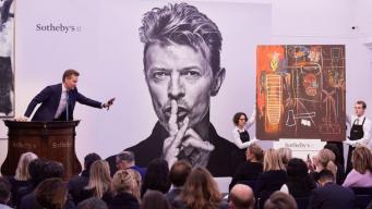 В Лондоне выставлена на продажу художественная коллекция Дэвида Боуи фото:bbc.com
