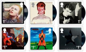 Royal Mail выпустила серию марок с Дэвидом Боуи фото:royalmail.com