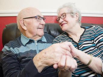 В Великобритании определена самая пожилая пара новобрачных