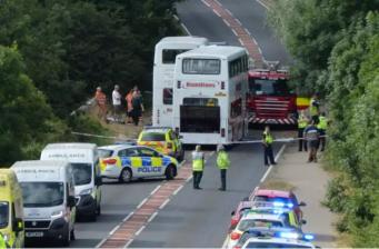 В Нортгемптоншире в ДТП пострадали двадцать семь детей