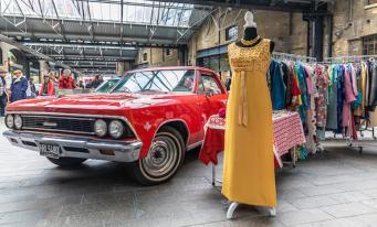 Винтажные автомобили украсят собой «гаражную распродажу на Кингс-Кросс