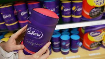 Интернет-реклама шоколадных яиц Cadbury попала под запрет в Великобритании