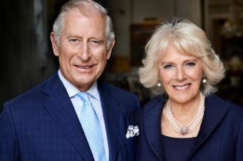 Новый портрет наследника престола обнародован в день юбилея герцогини Камиллы фото:standard.co.uk