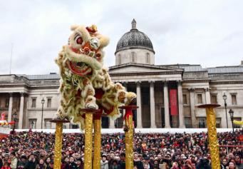 Где в Лондоне отметить Китайский Новый год фото:metro.co.uk