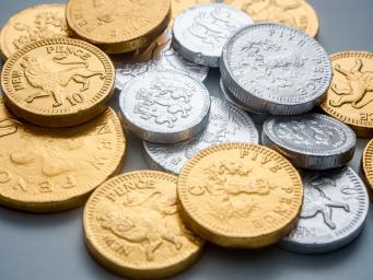 Банкомат у галереи Tate Modern отсыпал шоколадных монет и угольков