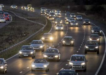Рождественский трафик: когда и куда в Великобритании лучше даже не заезжать