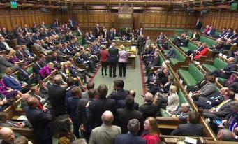 Палата общин утвердила проведение досрочных парламентских выборов
